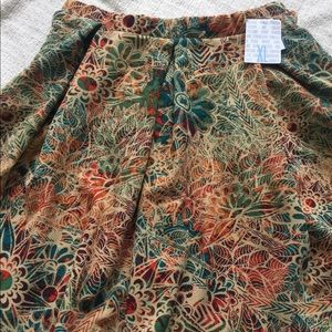 NWT LulaRoe Madison Skirt Pockets Sz XL